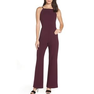 French Connection Purple Whisper Jumpsuit